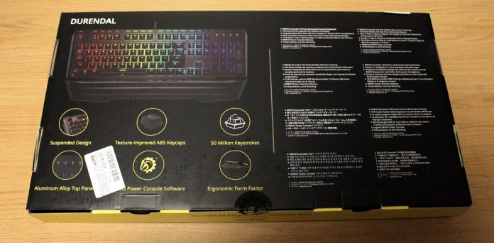 drevo durendal keyboard box back