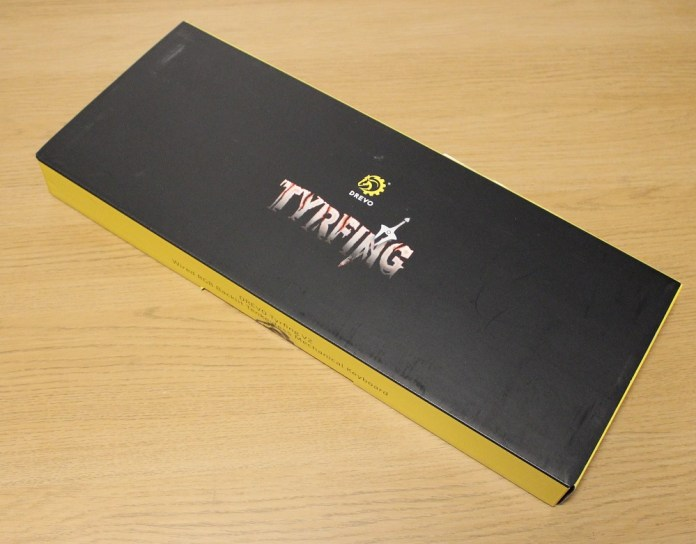 drevo tyrfing v2 keyboard box
