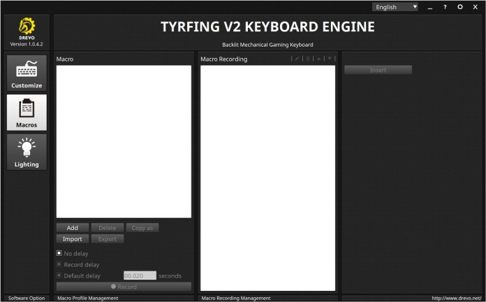tyrfing v2 power console macros