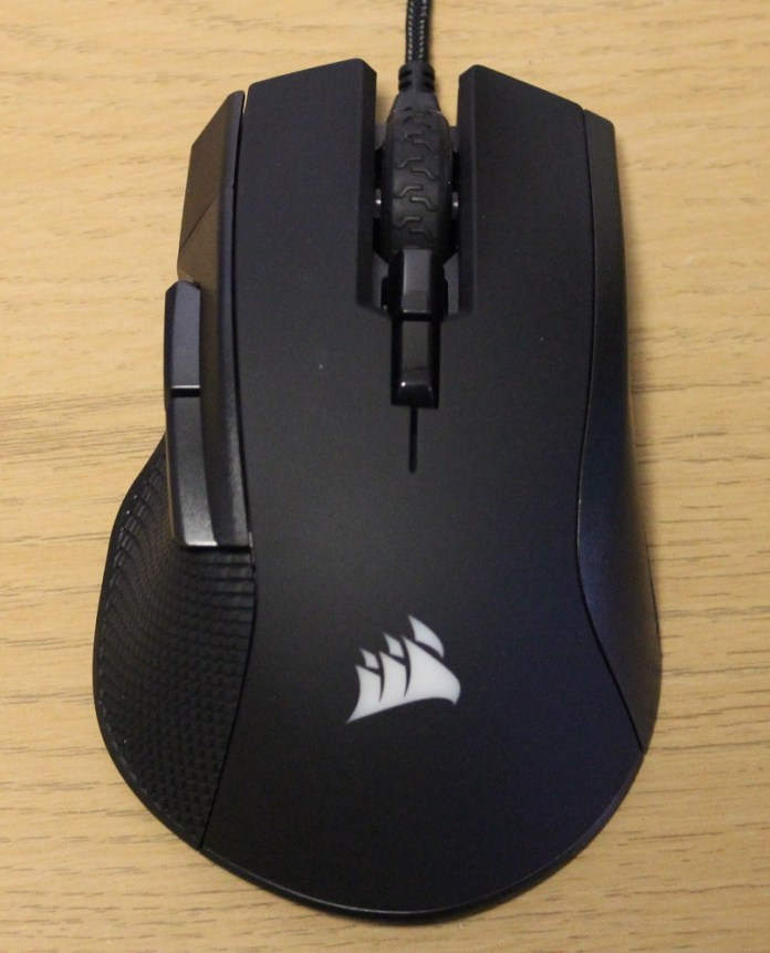 Corsair Ironclaw RGB mouse top