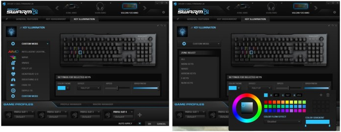 Roccat Swarm Key Illumination