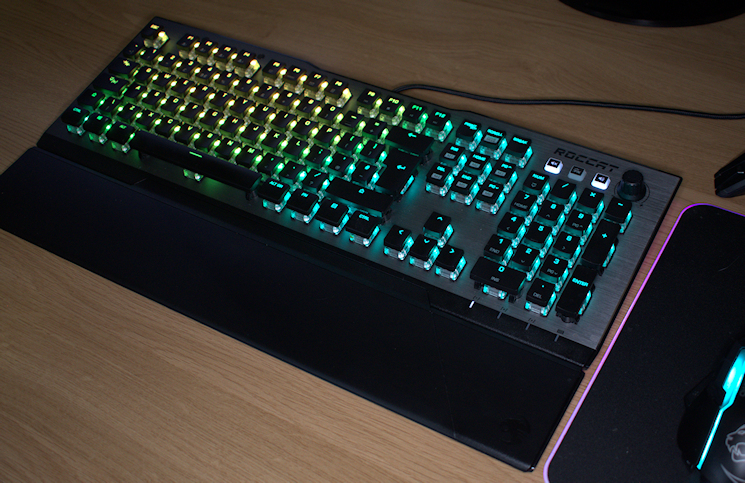 bc059214dff ROCCAT Vulcan 120 AIMO RGB Mechanical Keyboard Review | Play3r