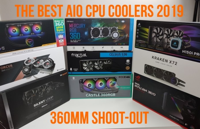 Best 360mm AIO CPU coolers 2019: Feature