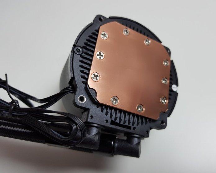 Deepcool Gammax L240 cold plate