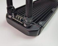 Best 360mm AIO CPU coolers 2019: Fractal Celsius s36 fan hub