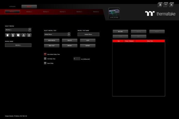 TT iTake engine macros
