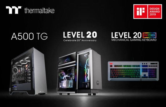 """Thermaltake wins the """"2019 iF Product Design Award"""""""