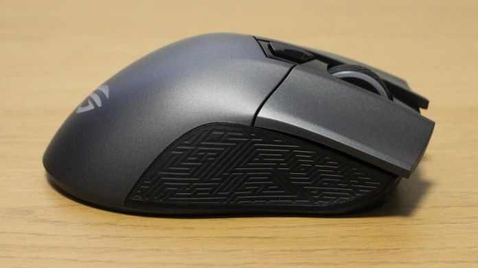 asus rog gladius II origin mouse right