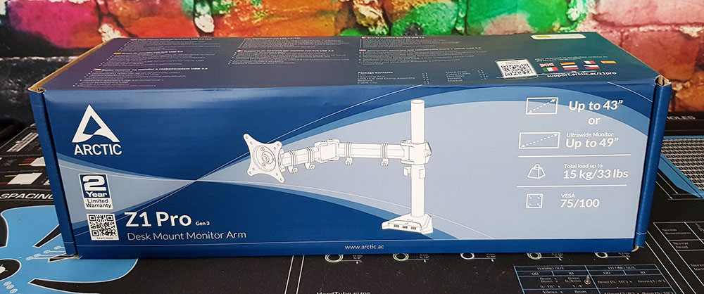 Terrific Arctic Z1 Pro Gen 3 Desk Mount Monitor Arm Review Single Download Free Architecture Designs Intelgarnamadebymaigaardcom