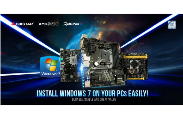 BIOSTAR Announces Windows 7 support for AMD and Intel Motherboards