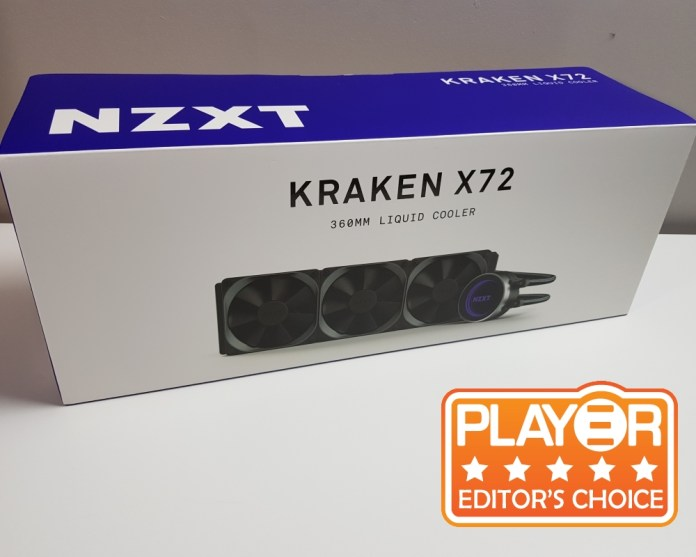 NZXT Kraken X72 award