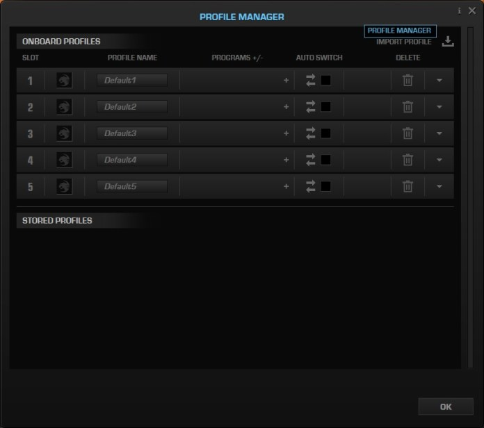 roccat swarm profile manager