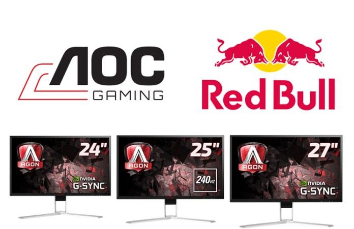AOC and Red Bull announce Partnership