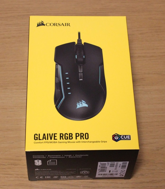 Corsair Glaive RGB Pro Box Top