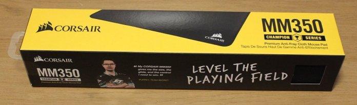 Corsair MM350 Mat box