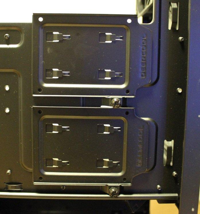 Deepcool Matrexx 70 hdd rear mounts