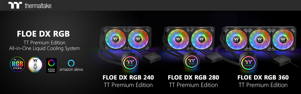 Thermaltake Floe DX RGB Series TT Premium Edition Banner