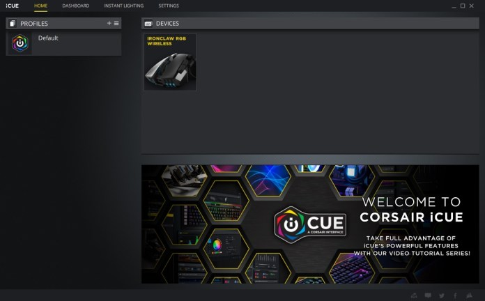 icue software