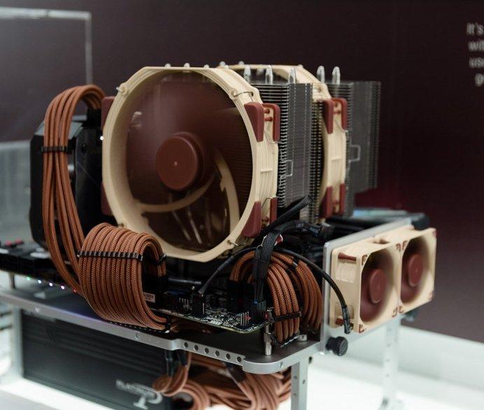 Noctua Computex 2019 140mm d type coolers 2