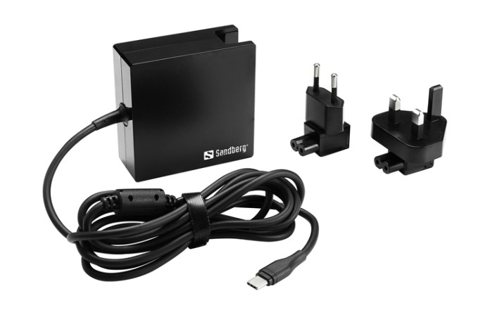 USB-C PD AC-Charger 90W EU+UK Feature