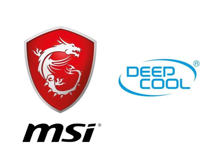 MSI Deepcool Logos