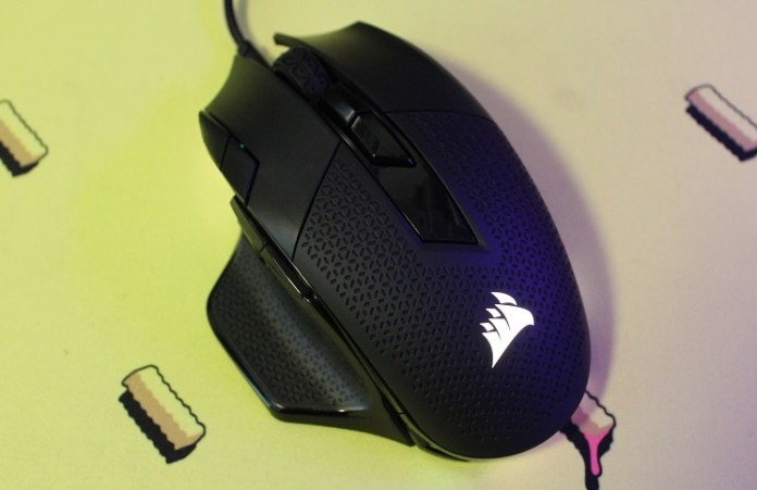 Corsair Nightsword RGB Performance Tunable Mouse Review