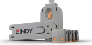 Lindy Key PortBlockers Orange