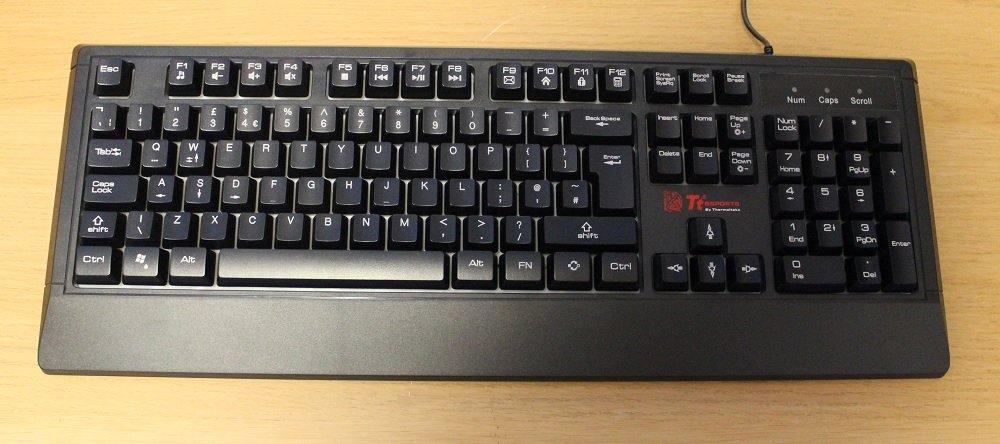 tt challenger keyboard top