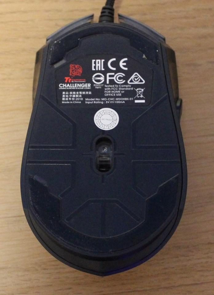 tt challenger mouse base