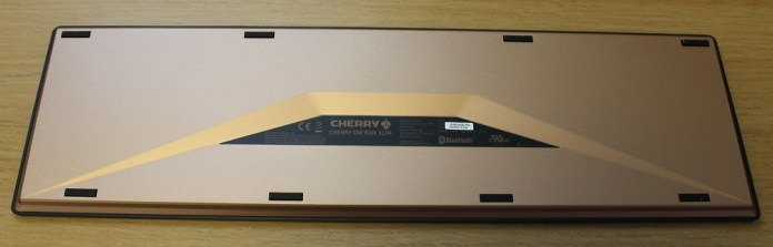 Cherry DW9000 Slim keyboard bottom