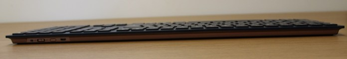 Cherry DW9000 Slim keyboard rear