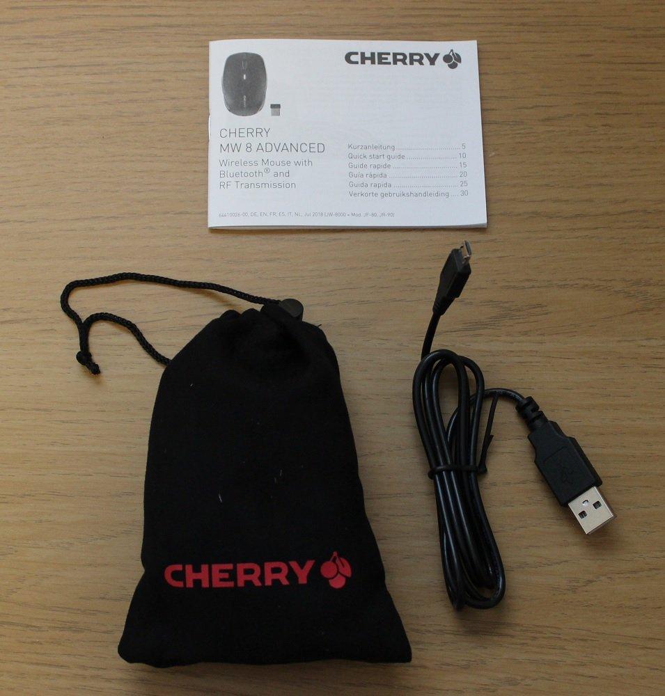 Cherry MW8 Advanced Box contents