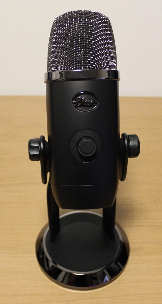 Blue Yeti X Box microphone front