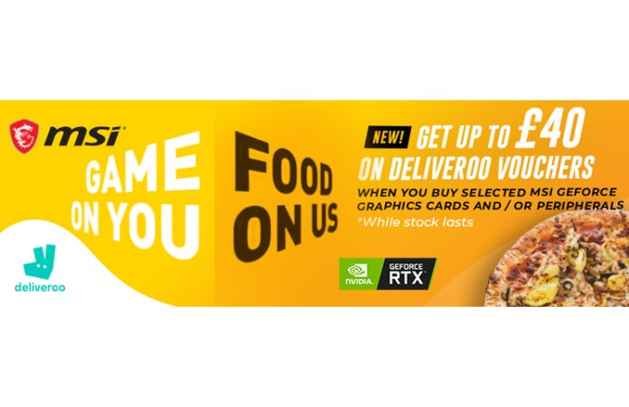 MSI Game On You Food On Us Offer Feature
