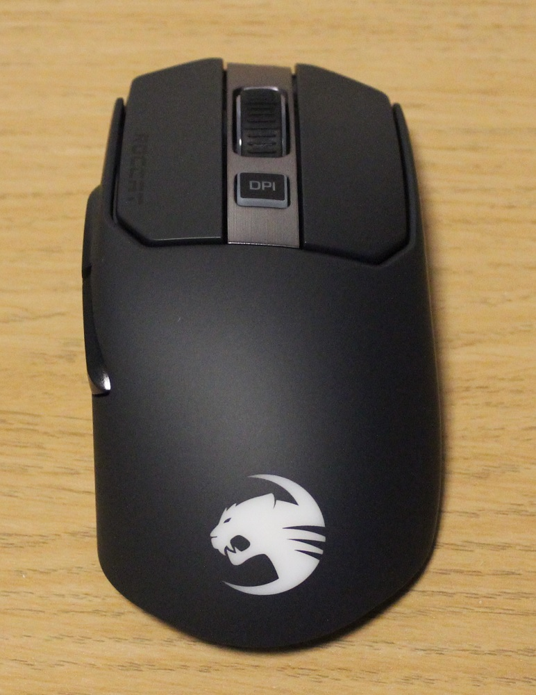 Roccat Kain 200 AIMO Wireless Mouse top