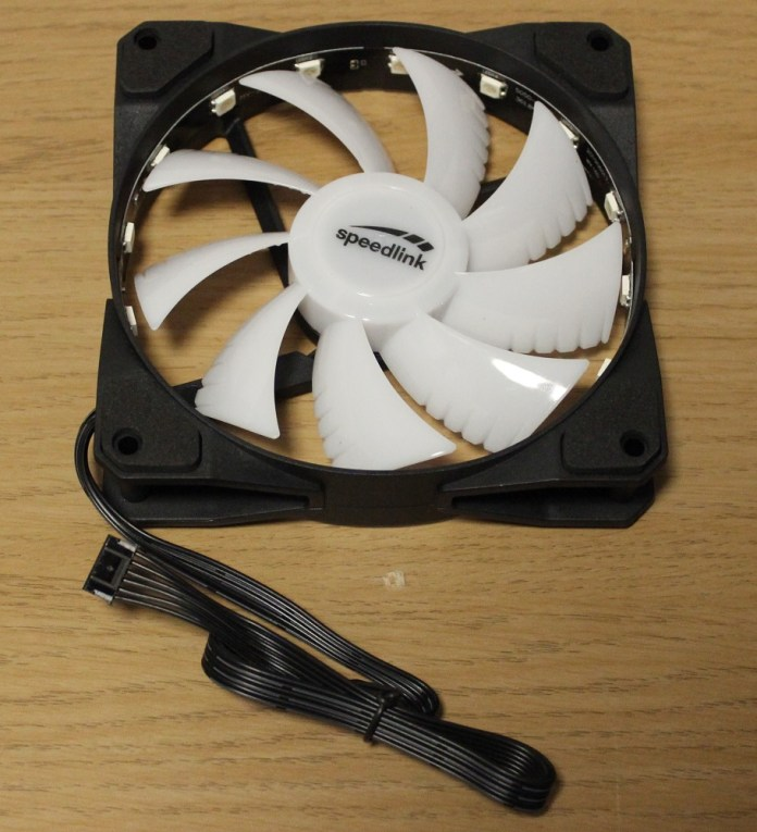 Speedlink MYX LED Fan front