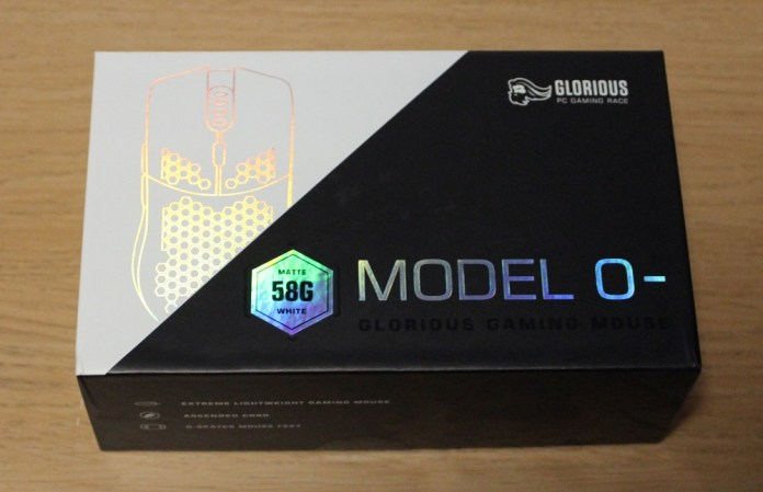 glorious pc gaming mouse model 0 box top