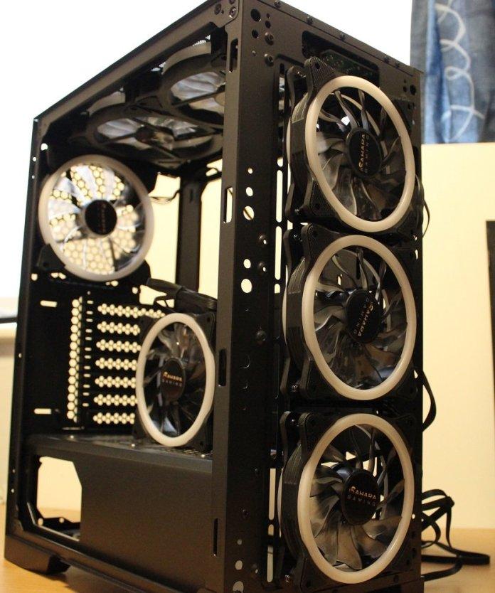 sahara c500 fans installed