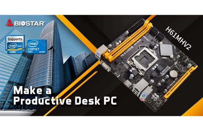 Biostar Refresh 2011's 1155 Motherboard in 2020 with H61MHV2