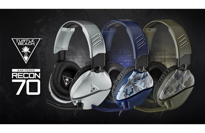 The new Turtle Beach Recon 70 Camo and Silver colours