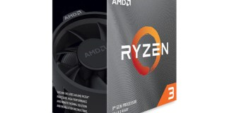 A Ryzen 3 3000 series box containing a quad core zen 2 processor