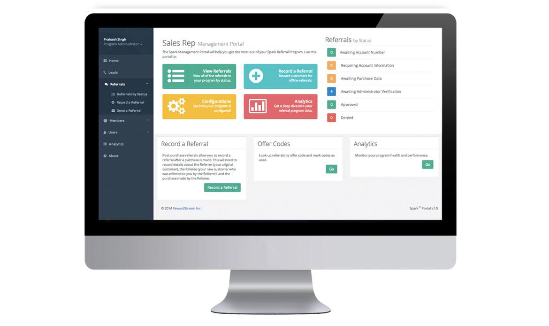 Spark Referral CRM Portal