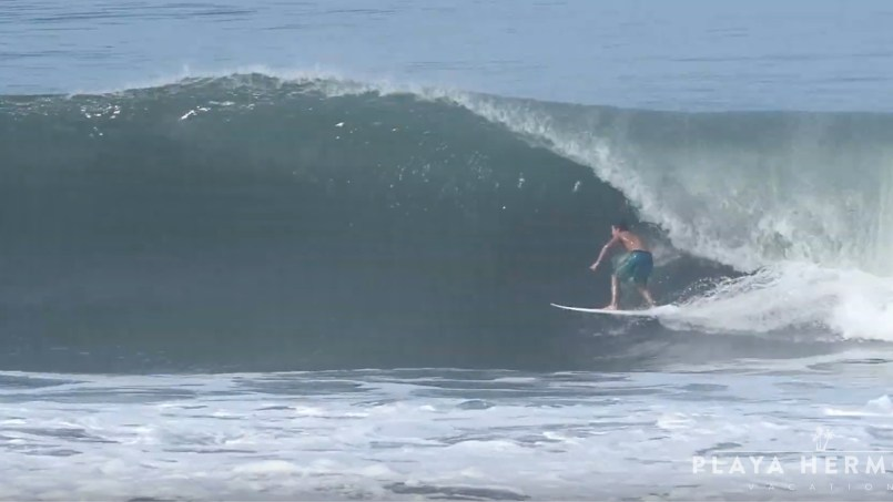 Surfing at Playa Hermosa, Costa Rica September 28 & 30, 2019