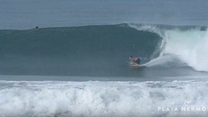 Surfing at Playa Hermosa, Costa Rica October 03 & 05, 2019