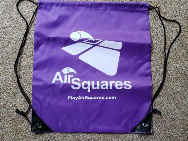 9 square ball bag