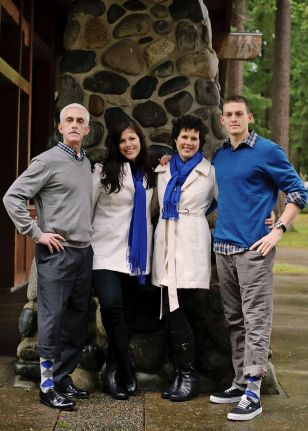 The Whittier Family, photo by Kathryn Terry
