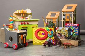 sampling of toys in ToyChest