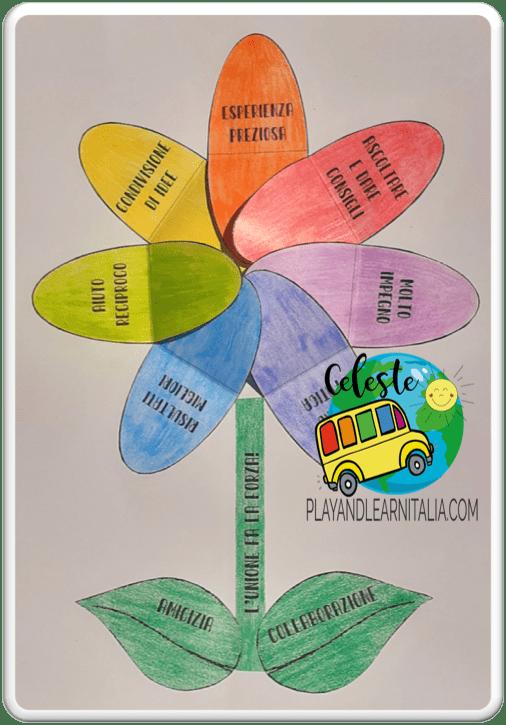 Fiore dei valori @playandlearnitalia