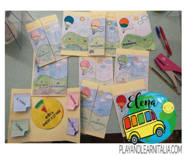 lapbook racconto di avventura-EleMaso @playandlearnitalia