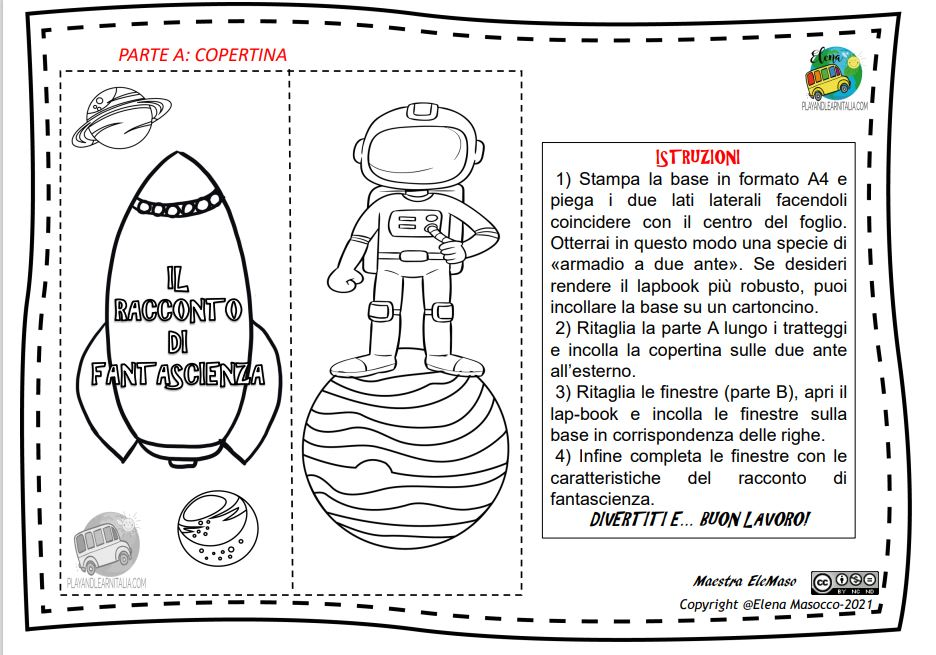 lap book fantascienza-ELEMASO1@playandlearnitalia